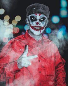 Déguisement de Joker pour Halloween
