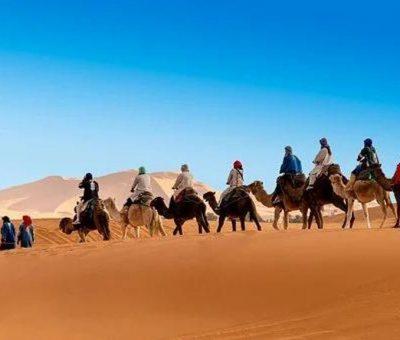 Le désert marocain, un endroit rêvé pour s'adonner au road trip